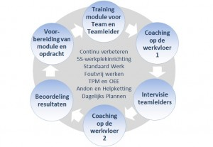 Lean Trainingen Yellow Belt model breed