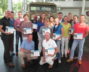 Lean Black Belt Training certificaat uitreiking Scania